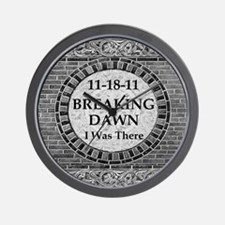 Breaking Dawn I was there Victo Wall Clock