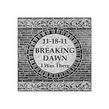 Breaking Dawn I was there V Square Sticker 3
