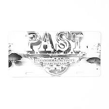 PAST mug2 Aluminum License Plate