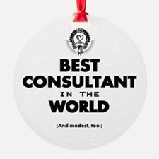 The Best in the World – Consultant Ornament