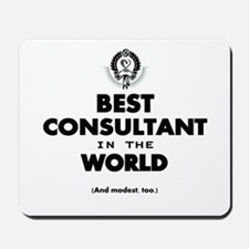 The Best in the World – Consultant Mousepad