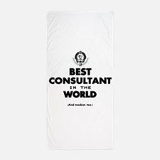 The Best in the World – Consultant Beach Towel