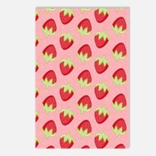 Strawberry Flip Flops Postcards (Package of 8)