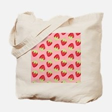 Strawberry Flip Flops Tote Bag