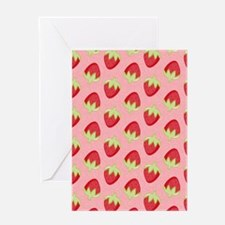 Strawberry Flip Flops Greeting Card