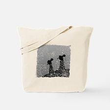 baclmetanoback Tote Bag