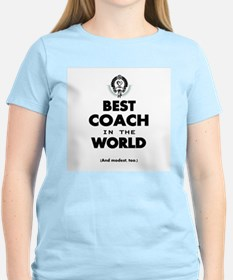 The Best in the World – Coach T-Shirt