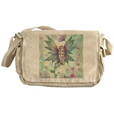 mystic garden square Messenger Bag