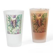 mystic garden square Drinking Glass