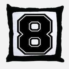 8 Throw Pillow