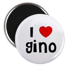 """I * Gino 2.25"""" Magnet (10 pack)"""