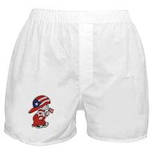 Puerto Rico ROCKS Boxer Shorts