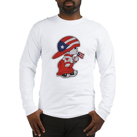 Puerto Rico ROCKS Long Sleeve T-Shirt