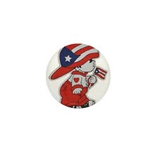Puerto Rico ROCKS Mini Button (10 pack)