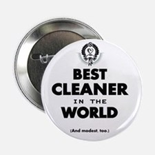 "The Best in the World – Cleaner 2.25"" Button"