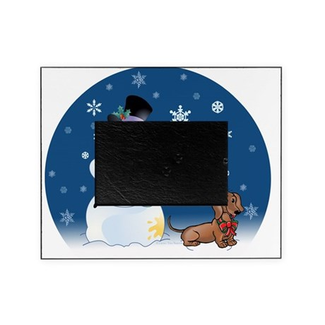 snowmandoxieorn Picture Frame