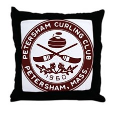 pcc_seal_maroon_and_white.gif Throw Pillow