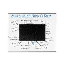 Atlas of an ER nurses brain Picture Frame