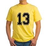 13 Yellow T-Shirt