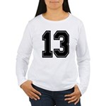 13 Women's Long Sleeve T-Shirt