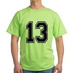 13 Green T-Shirt