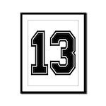 13 Framed Panel Print