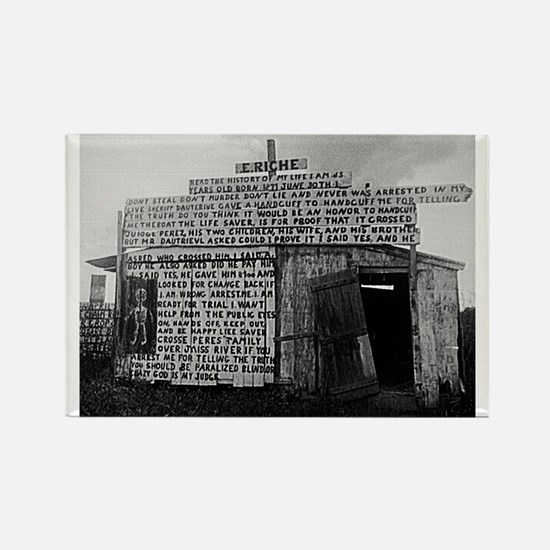 Plaquemines Parish, 1943 Rectangle Magnet
