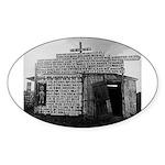 Plaquemines Parish, 1943 Oval Sticker
