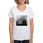 Plaquemines Parish, 1943 Women's V-Neck T-Shirt