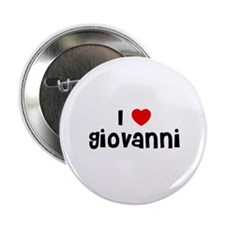 "I * Giovanni 2.25"" Button (10 pack)"
