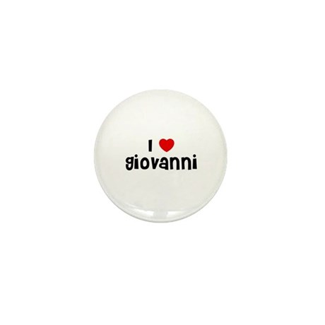 I * Giovanni Mini Button
