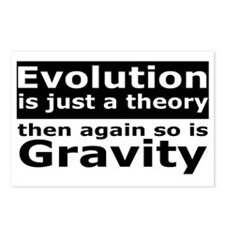 evolution4 Postcards (Package of 8)