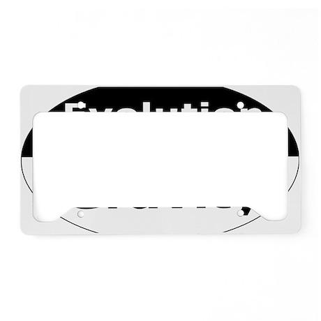 evolution5 License Plate Holder