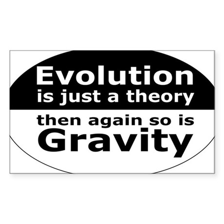 evolution5 Sticker (Rectangle)