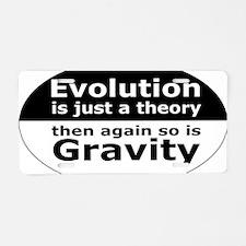 evolution5 Aluminum License Plate