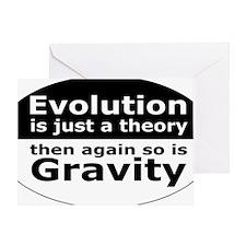 evolution5 Greeting Card