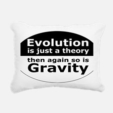 evolution5 Rectangular Canvas Pillow