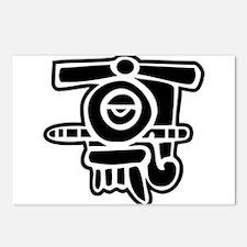 Quiahuitl Postcards (Package of 8)