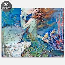 Pillow-CLIVE-Mermaid Puzzle