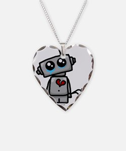 robot_sad Necklace
