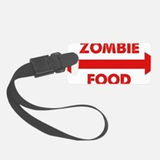 zombieFood1D Luggage Tag