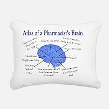 Atlas of a Pharmacists B Rectangular Canvas Pillow