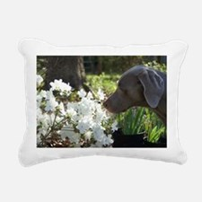 Duke with bee Rectangular Canvas Pillow