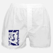 iTouch2_Case_2.41x4.42_woman_blue Boxer Shorts