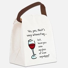 seenmywine Canvas Lunch Bag
