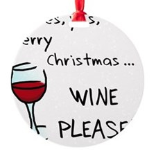 wineplease Ornament