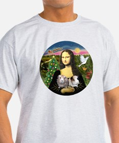 R-Mona-Two GuineaPigs T-Shirt