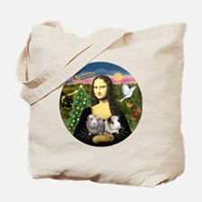 R-Mona-Two GuineaPigs Tote Bag