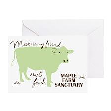 max friend not food32 Greeting Card