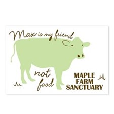 max friend not food32 Postcards (Package of 8)